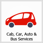 Cab, Car, Auto & Bus Services
